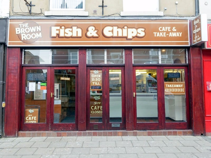 The Brown Room; Best Fish & Chips on the Yorkshire Coast