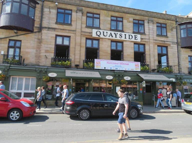 The Quayside; 11 Of The Best Fish and Chip Shops In Whitby