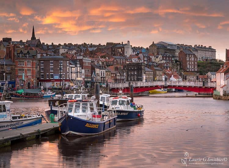 Whitby Harbour; Top Attractions on the Yorkshire Coast