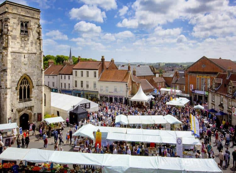Malton Food Market; What's On In Whitby In February (North York Moors and Yorkshire Coast)