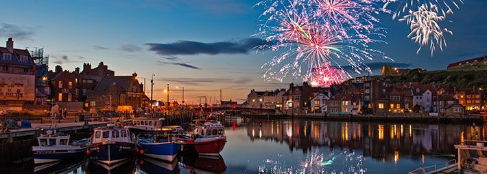 Night Time Photography; What's On In Whitby In February (North York Moors and Yorkshire Coast)