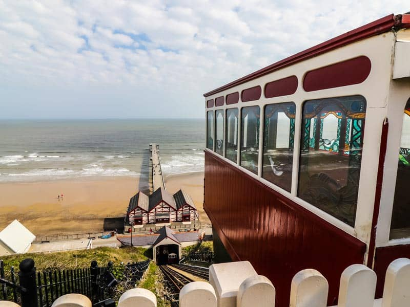 Saltburn Cliff Lift and Pier; 11 Awesome Things To Do On The North Yorkshire Coast