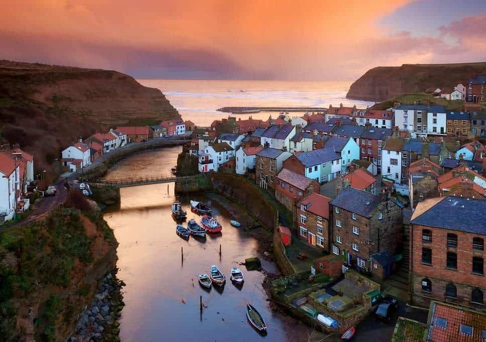 Staithes; 11 Unique Market Towns And Villages In The North York Moors