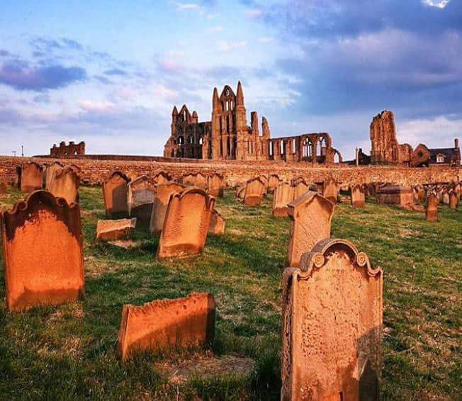 Whitby Abbey and St Mary's Church Yard; 9 Most Instagrammable Places in Whitby