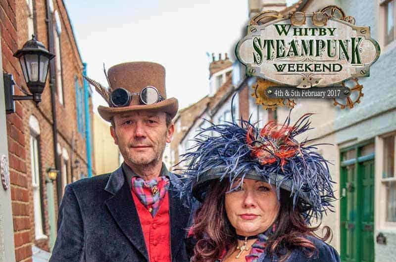 Whitby Steampunk Weekend; What's On In Whitby In February (North York Moors and Yorkshire Coast)