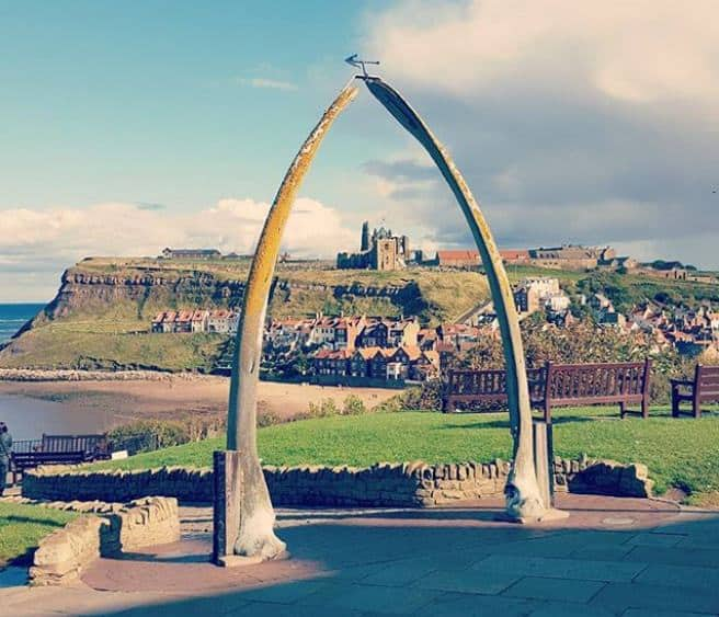 Whitby Whale Bone Arch; 9 Most Instagrammable Places in Whitby