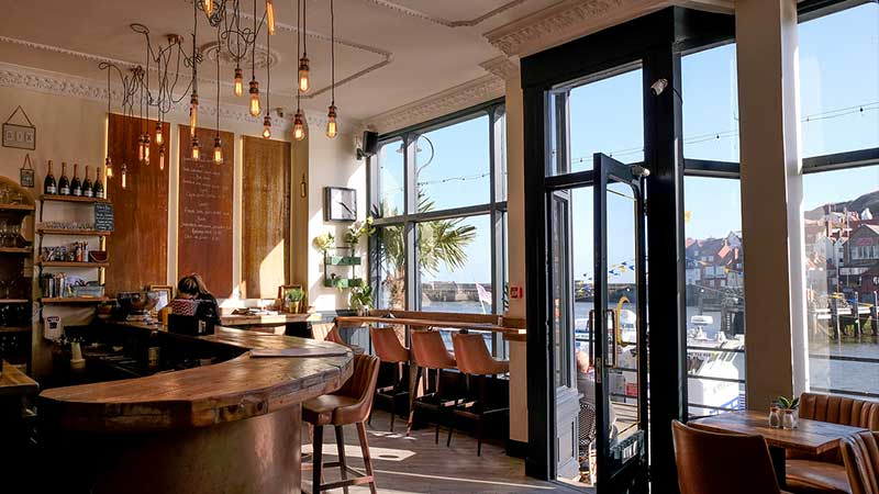 Whitby Restaurants With Harbour Views