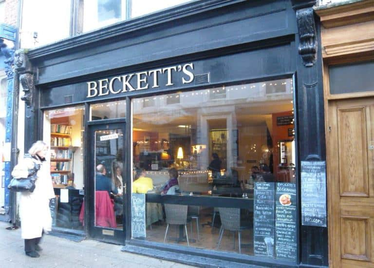 Beckett's coffee shop; 9 Best Cafes for Tea and Cake in Whitby