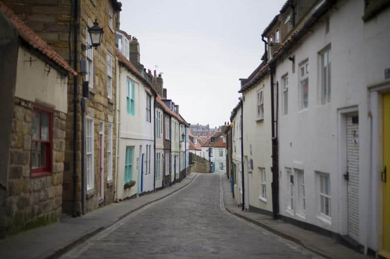 Henrietta street in Whitby
