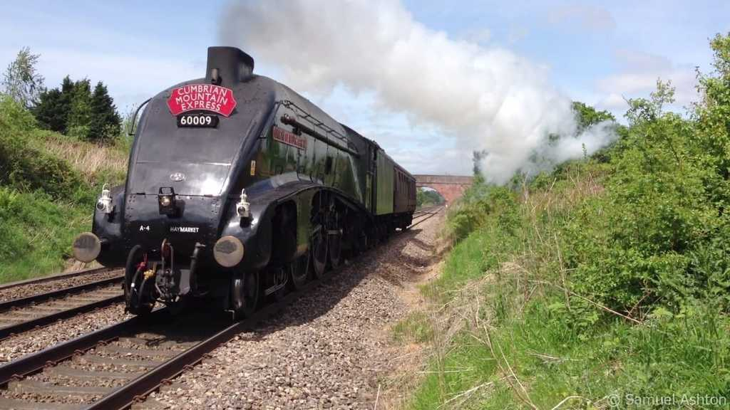 LNER Class A4 4488 Union of South Africa; What's On In Whitby In March plus North York Moors & Yorkshire Coast
