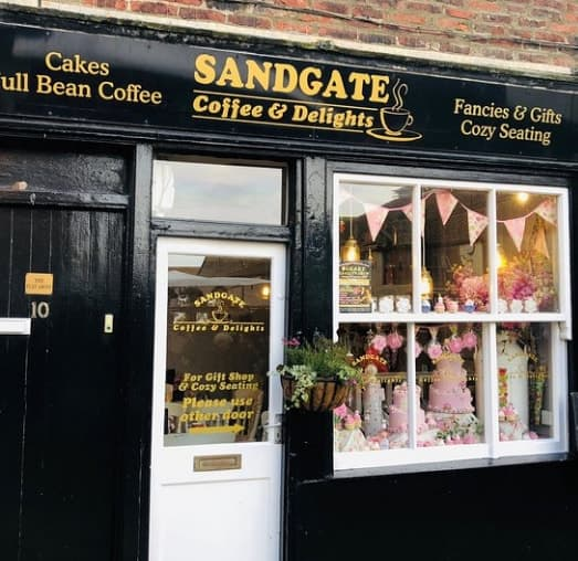 Sandgate Coffee & Delights; 9 Best Cafes for Tea and Cake in Whitby