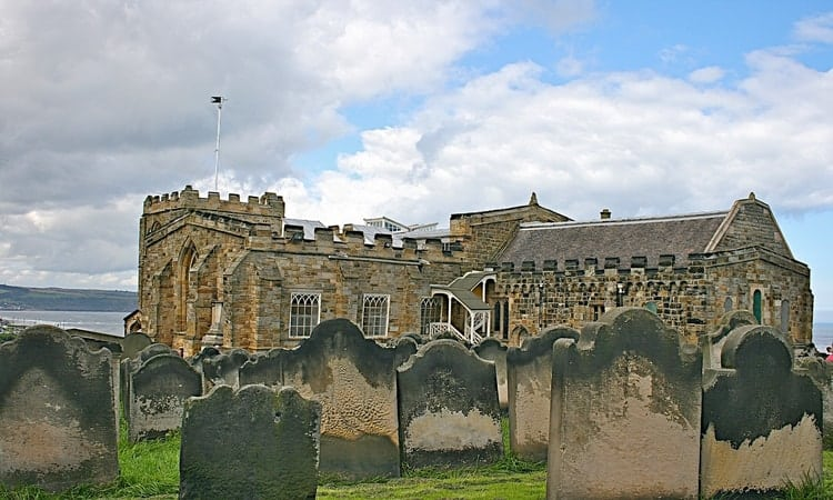 Tombstones at St. Mary's Churchyard; 7 Secrets of St. Mary's Churchyard That Will Freak You