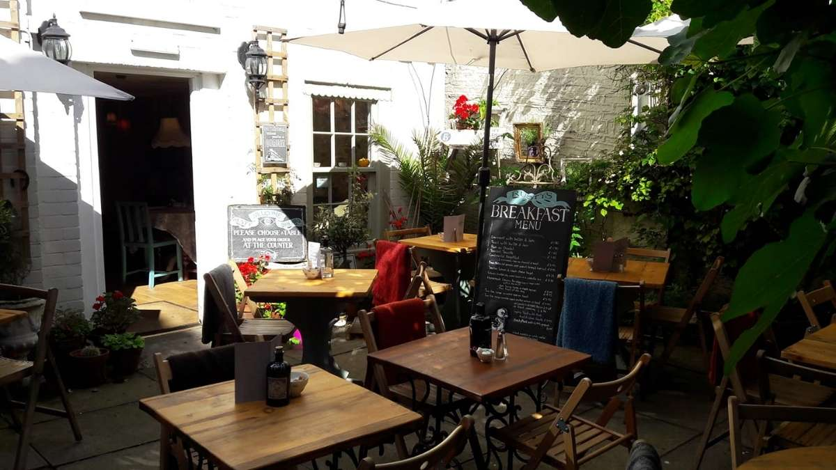Rusty Shears Cafe, Bistro & Gin Bar in Whitby