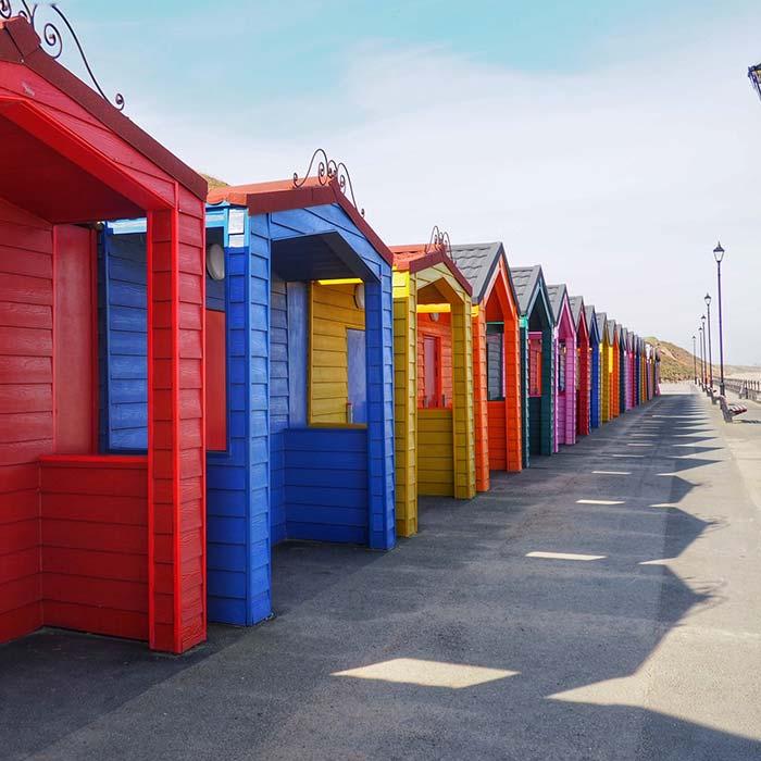 Saltburn Beach Huts