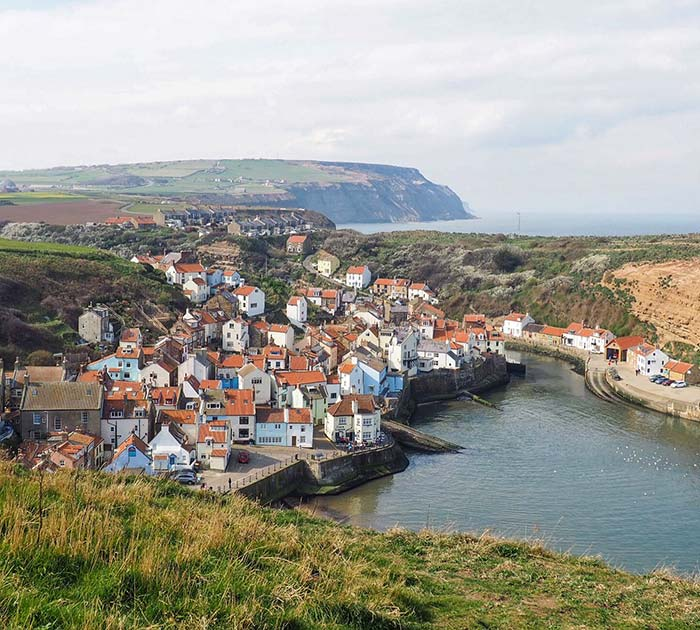 Staithes from the Cleveland Way
