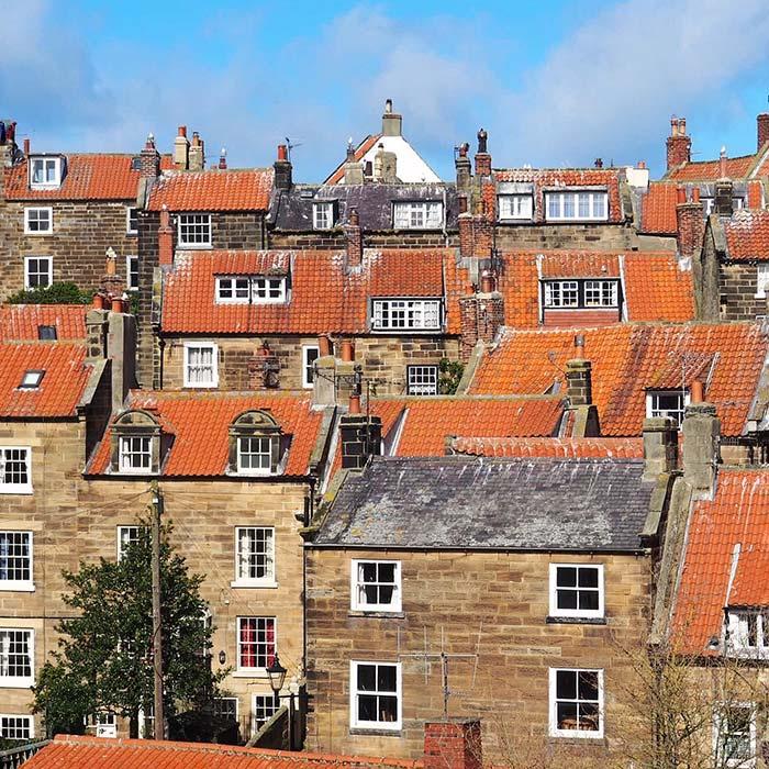 Terracotta Rooftops of Robin Hood's Bay