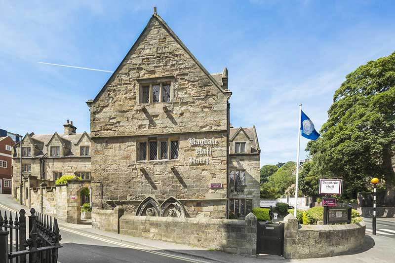 Bagdale Hall is one of the oldest hotels in Whitby