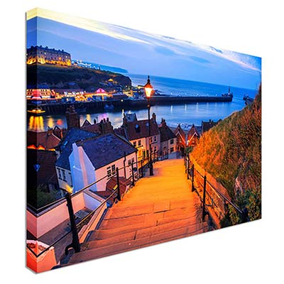 199 Steps Whitby Canvas