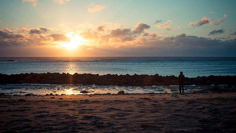 Solstice At Saltwick Bay