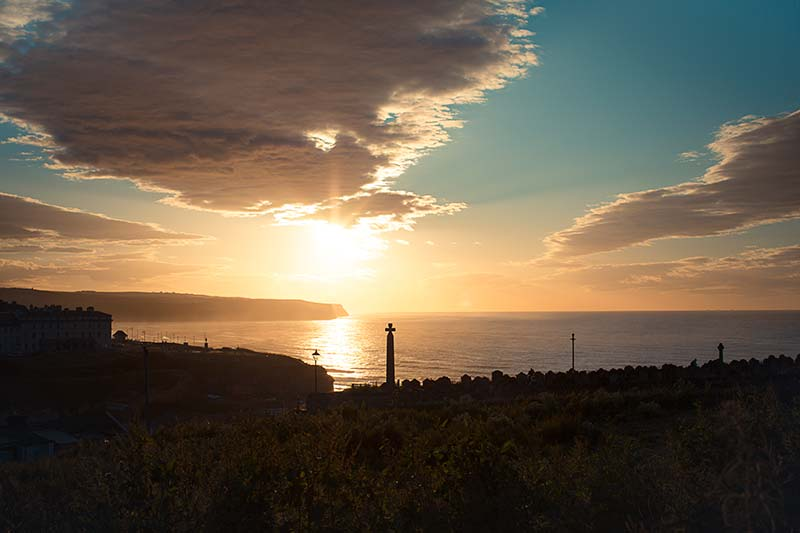Whitby Sunset