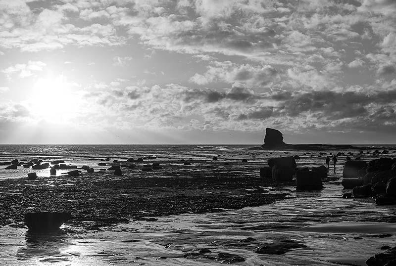 Summer Solstice At Saltwick Bay