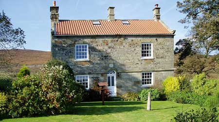 Crossley Side Farm B&B with parking near Whitby