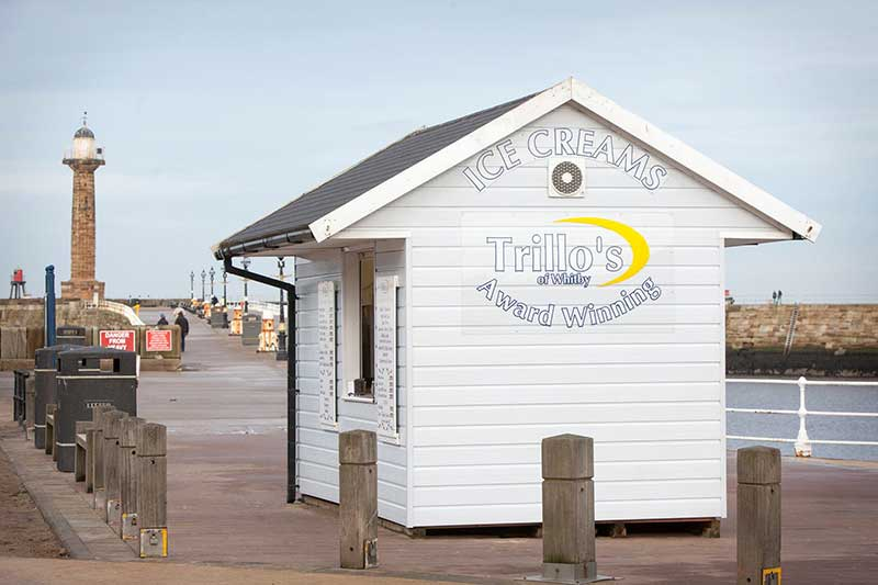 Trillos Ice Cream Whitby