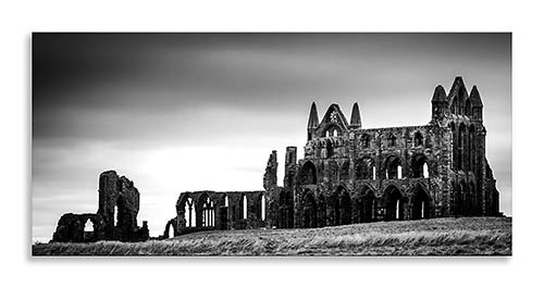 Whitby Abbey Canvas