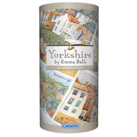 250 Piece Yorkshire Jigsaw Gift Set