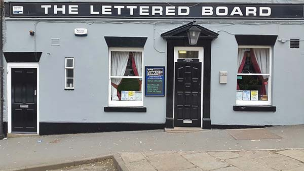 The Lettered Board Pickering Pub