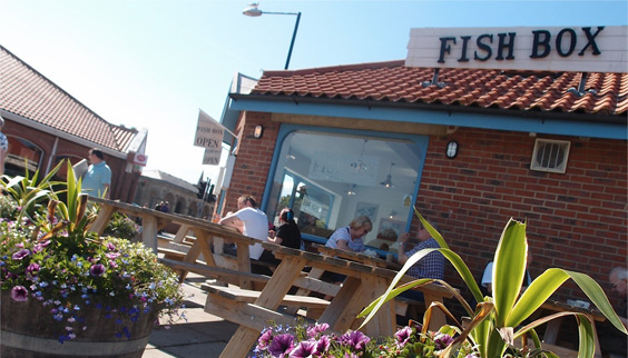 Fish Box in RHB in Whitby