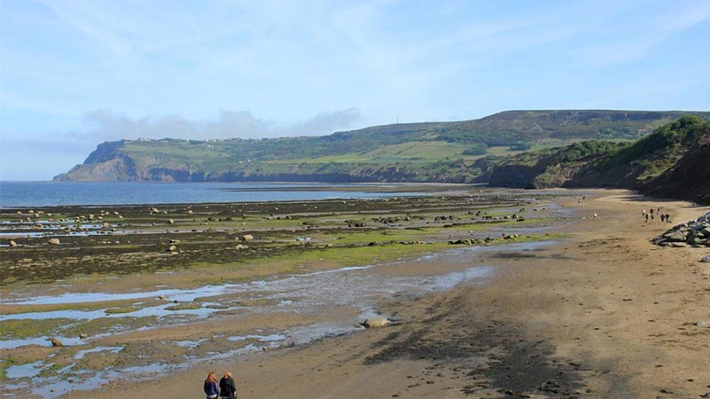 Robin Hood Bay Beach in Whitby