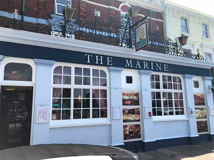 The Marine in Saltburn