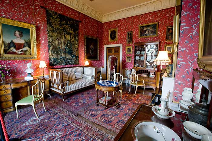 Bedroom at Castle Howard