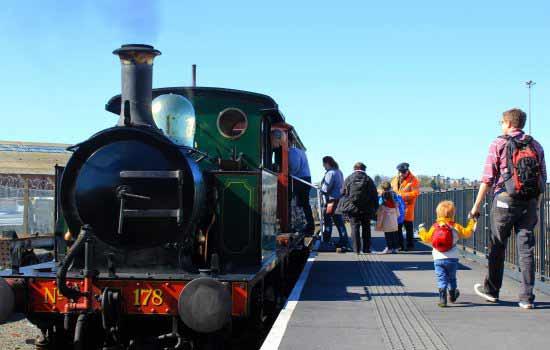 Steam Rides in York