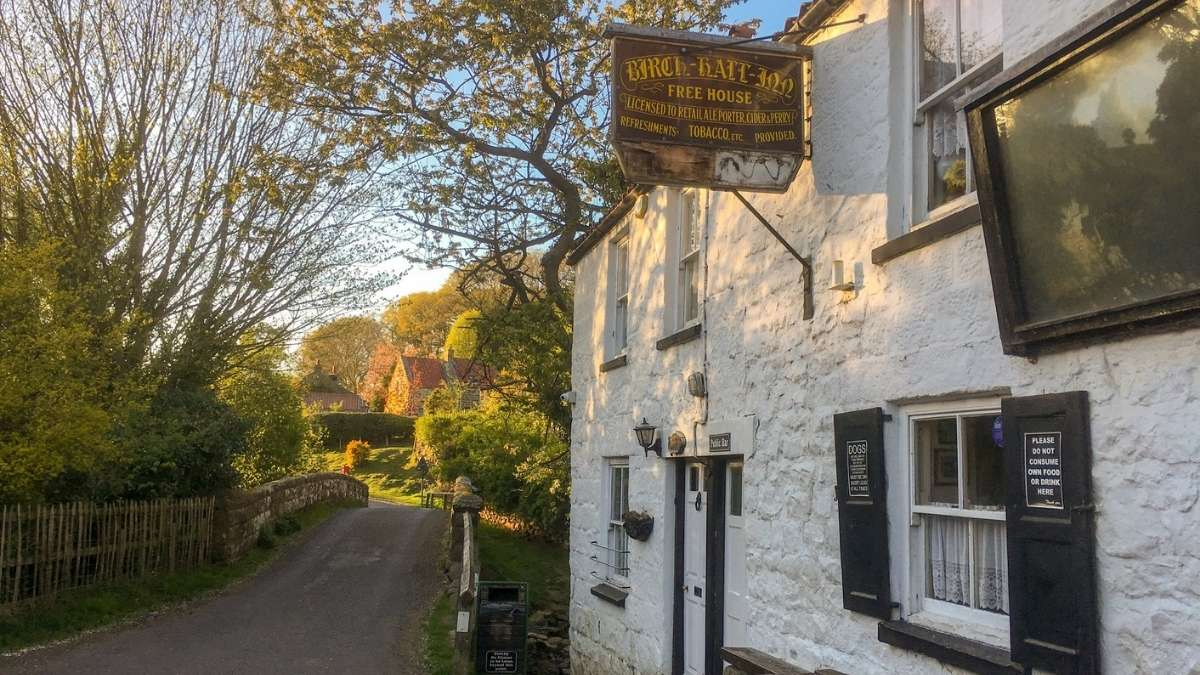 Birch Hall Inn is a small pub, located close to Whitby in the North York Moors