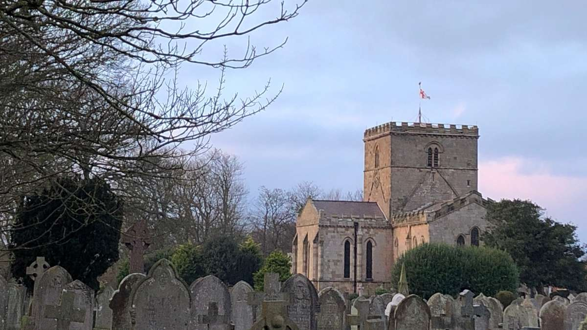 St Oswald's Church in Filey