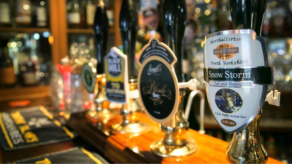The Golden Lion is one of the best pubs in the North York Moors