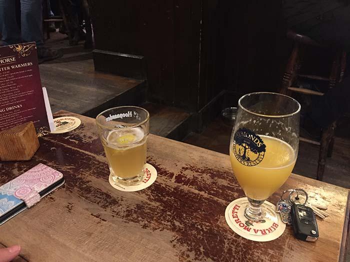 Guest Drinks - Black Horse Inn