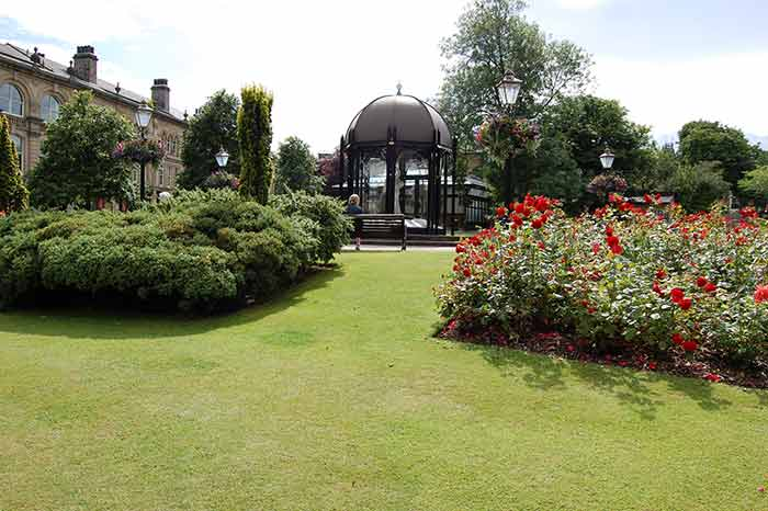 Crescent Gardens in Filey