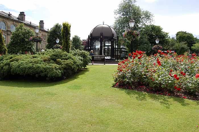Crescent Gardens in Filey