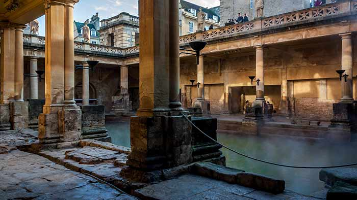 Roman Baths in Baths