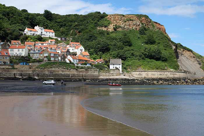 Runswick Bay Beach is a firm favourite with visitors