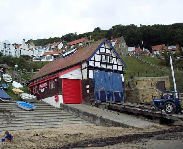 Lifeboat Station in Runsiwck Bay