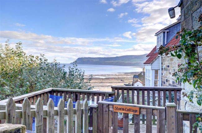 Storm Cottage in Robin Hood's Bay