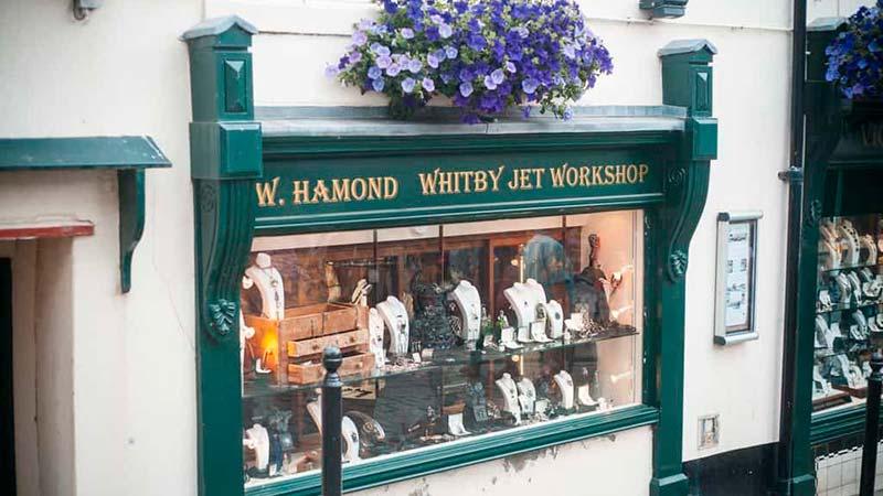 W Hamond Whitby Jet Shop