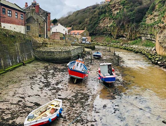 Staithes River