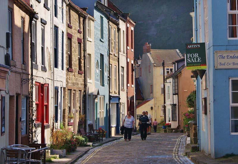 Staithes Streets