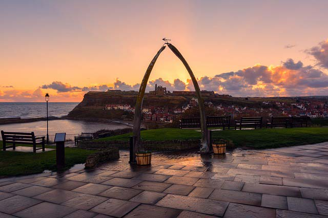 Whitby Whale Bone Arch