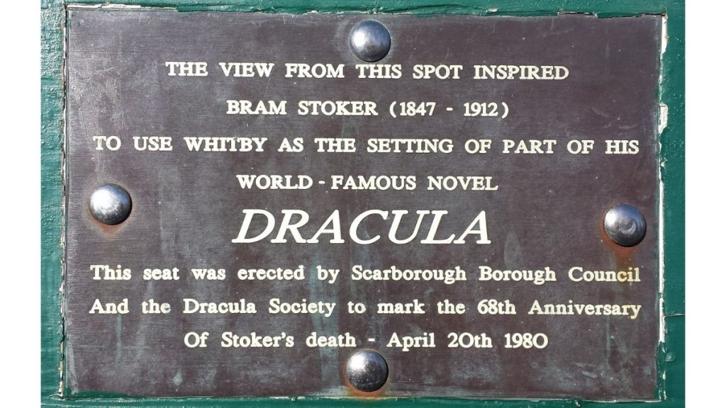 Suicide Seat Dracula in Whitby